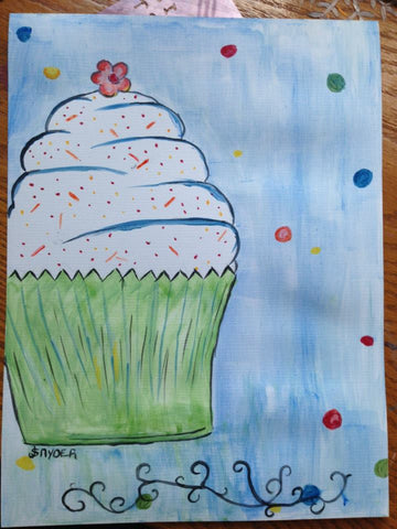 Cupcake Big/Little pARTy