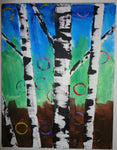 Birch Trees Big/Little pARTy