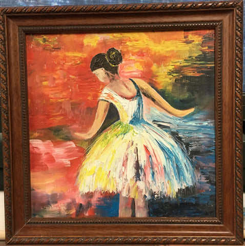 Ballerina, Original Oil