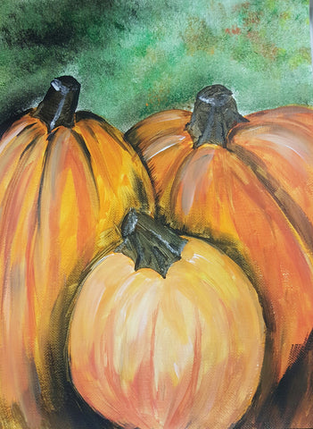 Pumpkin Trio pARTy: 10/21/17, 6-8pm
