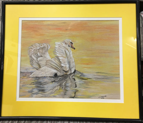 Golden Swan, Pastels