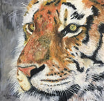 Tiger, original oil painting