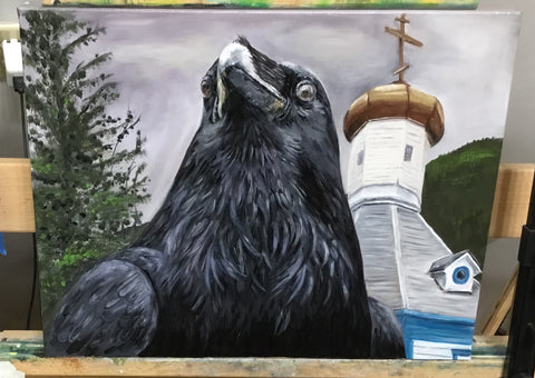 Orthodox Raven, Oils