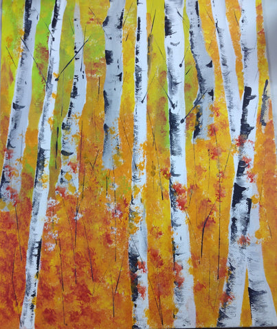 Birch Trees pARTy: 10/14, 6-8pm