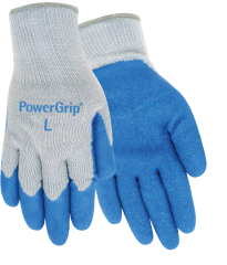 PowerGrip Rubber Palm Gloves