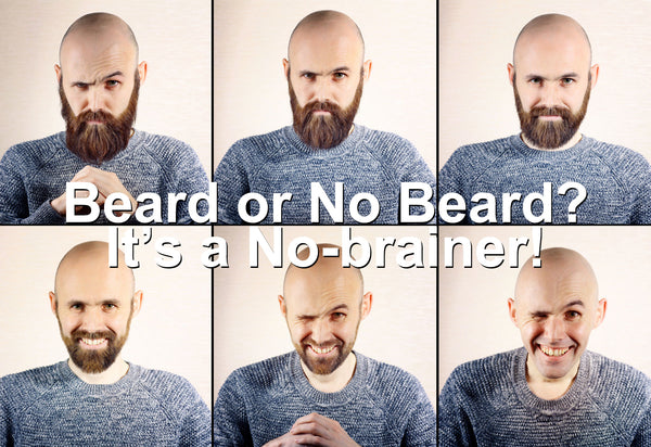 Decide on how much beard to keep.
