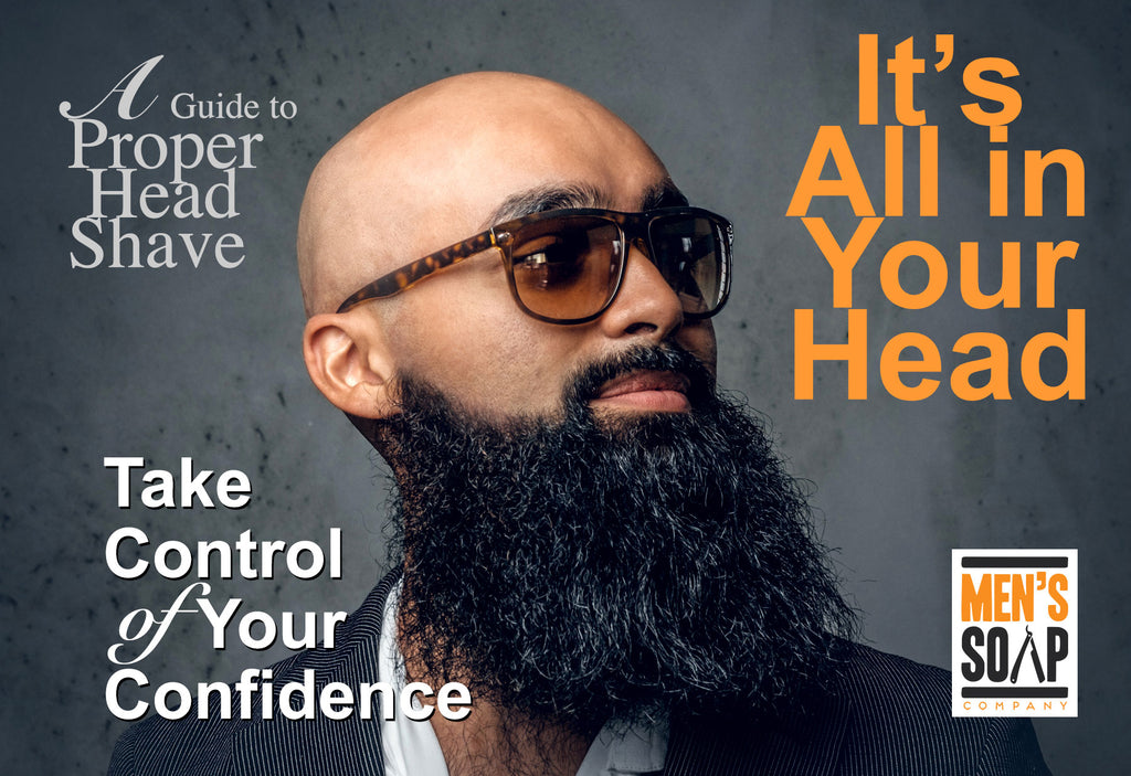 Men's Soap Company How-To Guide to a Proper Shaved Head