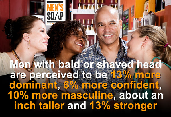 Why women love bald or shaved head men.
