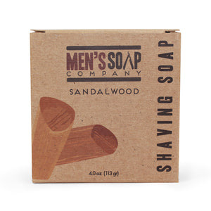 Sandalwood Shaving Soap Refill Puck, 4.0 oz