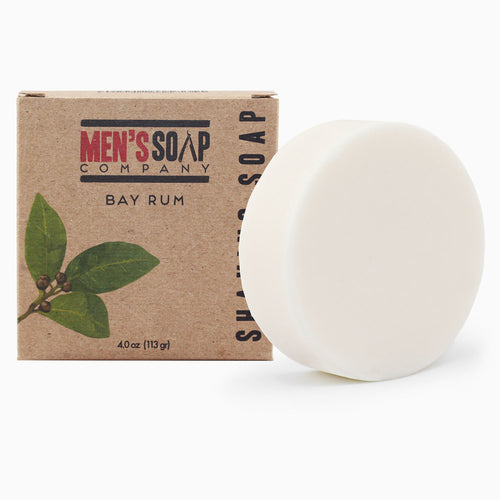 Bay Rum Shaving Soap Refill Puck, 4.0 oz
