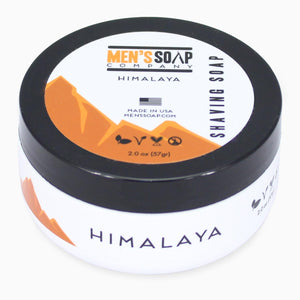 Travel Size Shaving Soap in Bowl with Lid, 2.0 oz - Himalaya