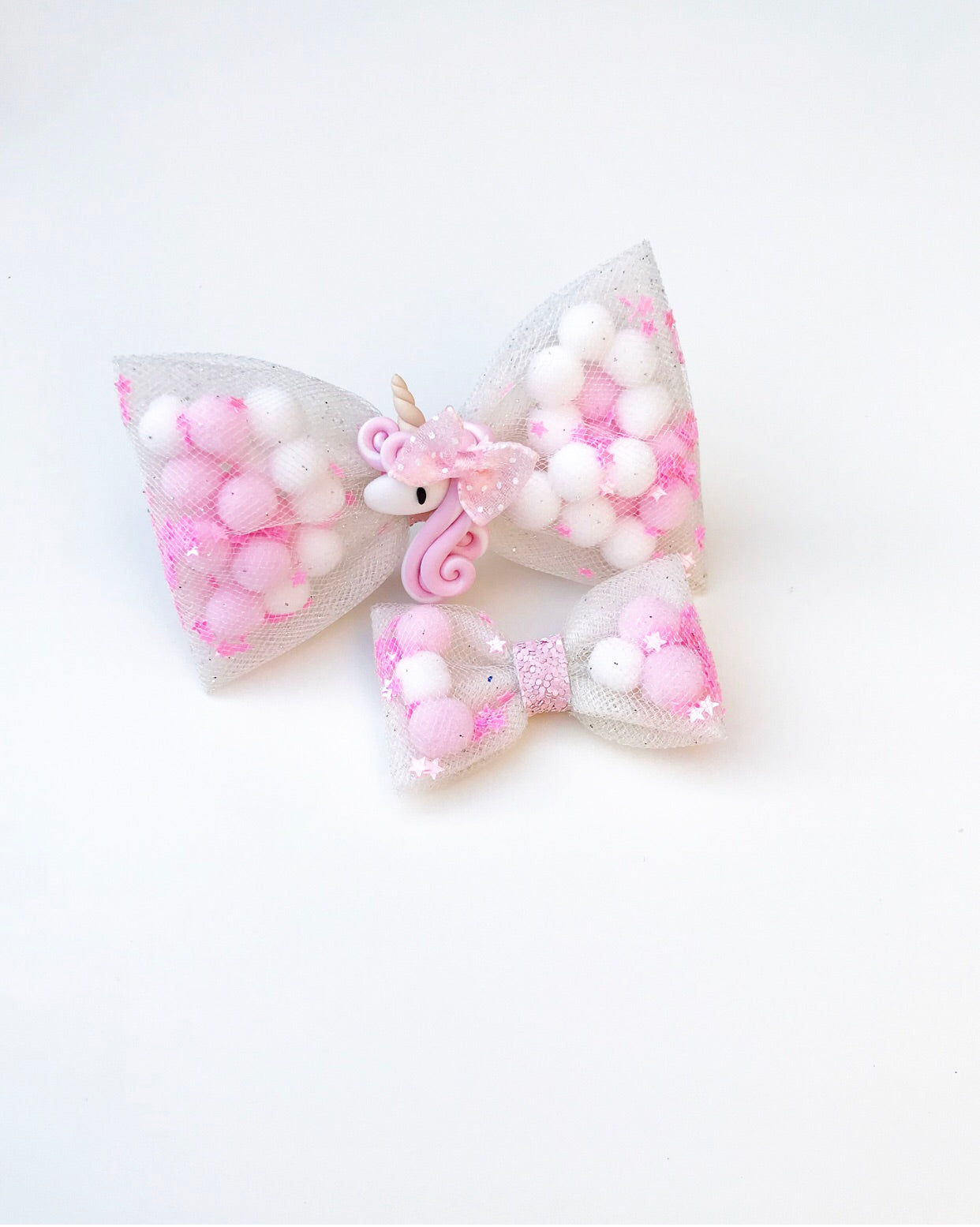 Dotty Unicorn Pominnie bow