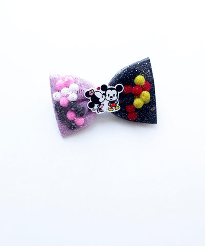 Minnie&Mickey Pominnie Bow