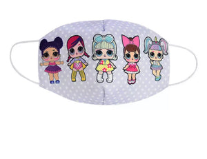Lilac LoL Kids Mask