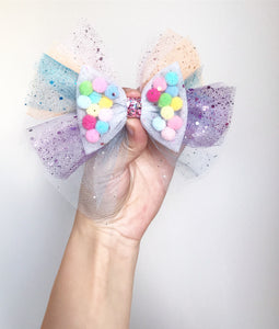 Pastel Rainbow Angel wing