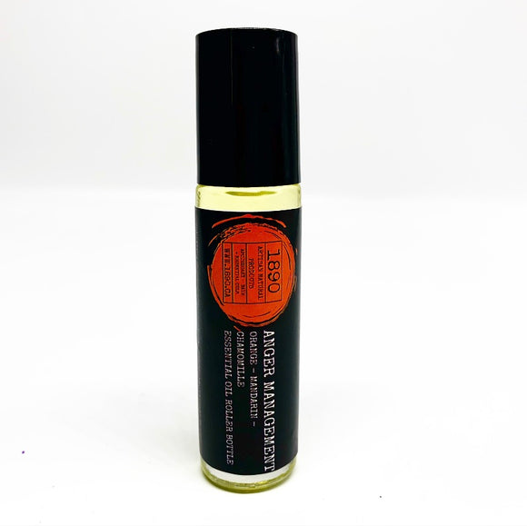 Roller Bottle - Anger Management {Orange and Chamomile } 15ml