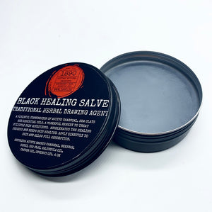 """Black Healing Salve"" Active Charcoal Salve"