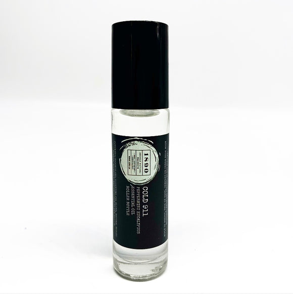 Roller Bottle - Cold 911 {Eucalyptus and Peppermint} 15ml