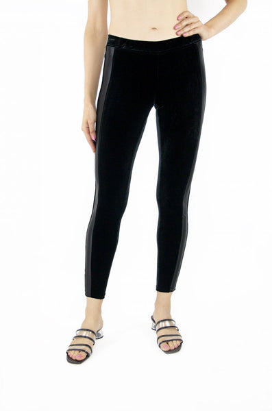 Tractr Jeans High-Ride Slip-on Velvet Legging