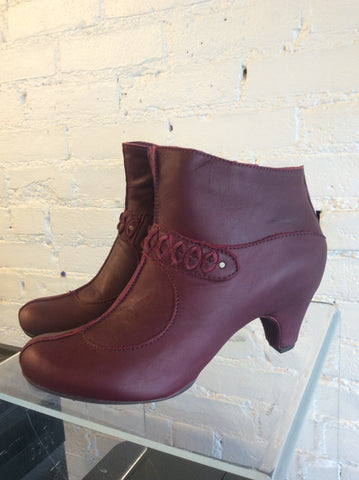 Sergio Tomani TRINIDAD Boot in Vino SALE  $105.00