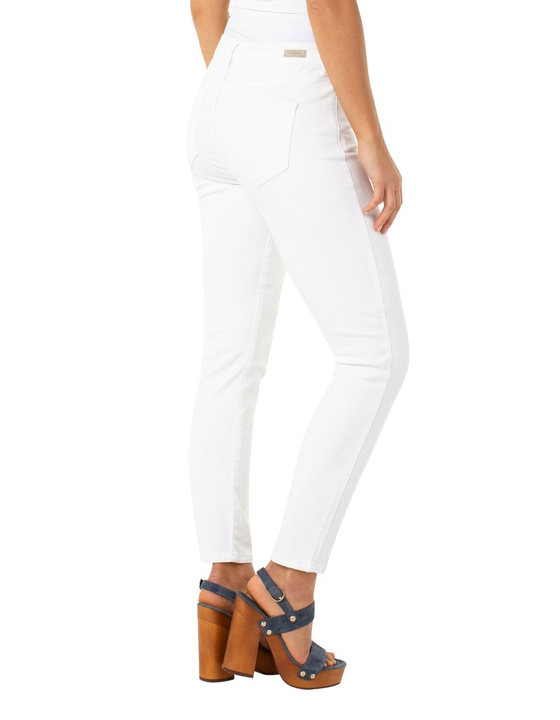 Liverpool PENNY Skinny Stretch Ankle Jean in Bright White