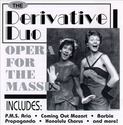 'Opera For the Masses' CD - Derivative Duo