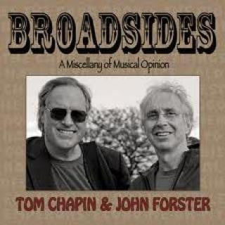 """Broadsides"" CD - John Forster with Tom Chapin"