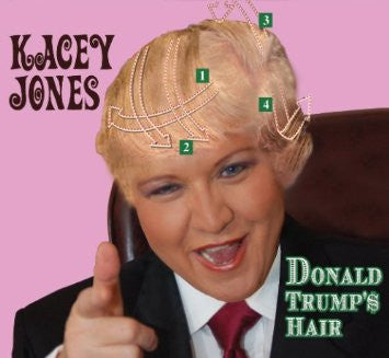 """Donald Trump's Hair""  CD - Kacey Jones"