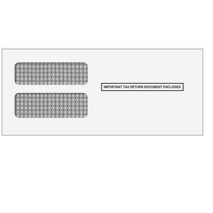 Double Window 1099 Envelope - Wide (DW19W)