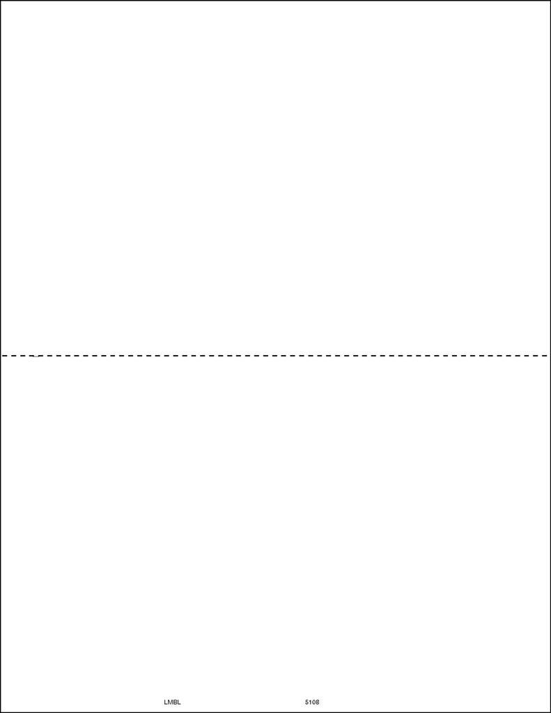 Laser 1099 Misc Blank w/instructions (pkg of 50 for 100 recipients)