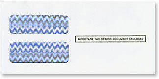 Double Window 1099 Envelope (DW19S) - Self Seal