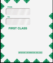 Double Window Tax Organizer Envelope 80342PS - Peel-and-Close
