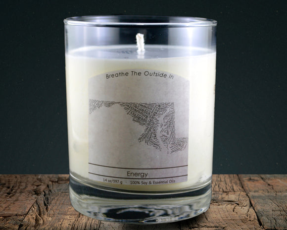 Maryland | 100% soy wax & essential oil candle | Classic Tumbler | 14oz. - Grassroots Natural Candle Company 100% soy and essential oil candle all natural
