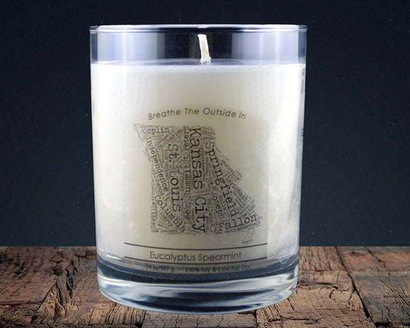 Missouri | 100% soy wax & essential oil candle | Classic Tumbler | 14oz. - Grassroots Natural Candle Company 100% soy and essential oil candle all natural