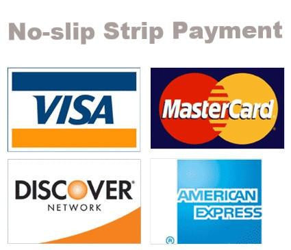 No-slip Strip Quoted Payment Services - No-slip Strip