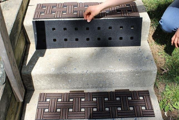 Fix Slippery Outdoor Stairs With No Slip Mats No Slip Strip
