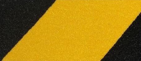 Yellow-Black - No-slip Strip