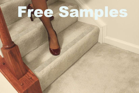 Free Samples: No-slip Strips, Carpeted Stairs - No-slip Strip