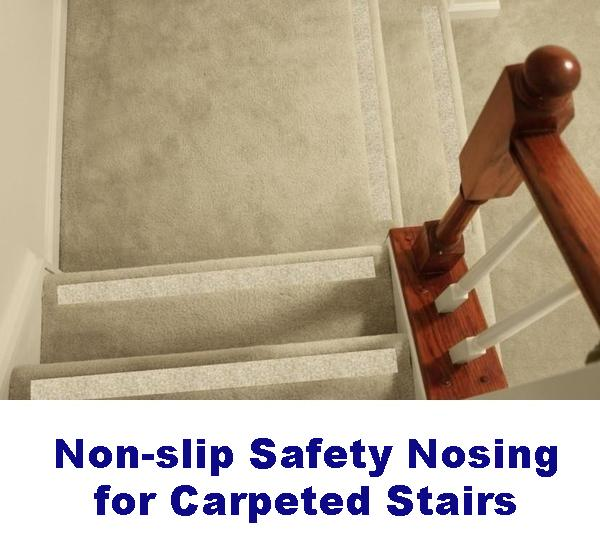 Non Slip Carpet Safety Strips For Carpeted Stairs No
