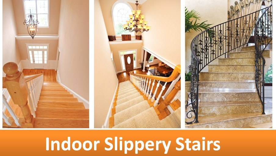Fix Slippery Stairs With Non Slip Solution No Slip Strip