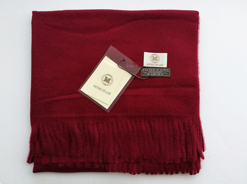 100% Virgin Wool Unisex Scarf