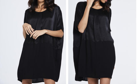 Oversized Silk Feel Dress