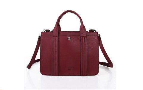 Red Cuckoo Small Centre Stud Tote Bag