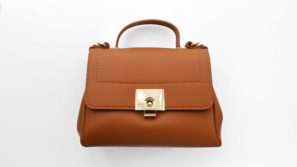 Small Leather Cross-Shoulder HandBag