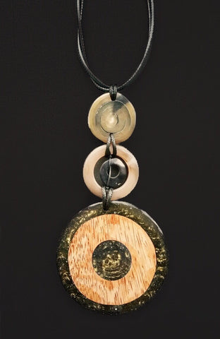 Three Dial Necklace