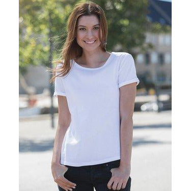 Ladies Roll-Up Sleeve T-Shirt