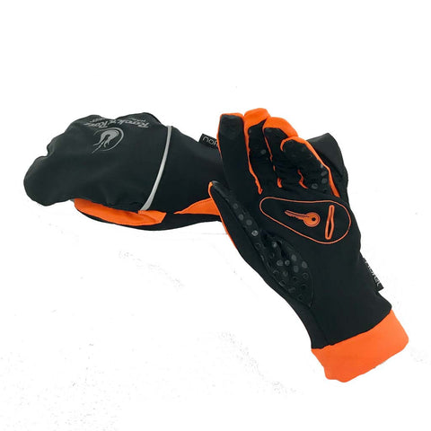 Endurance Mitten Black/Orange