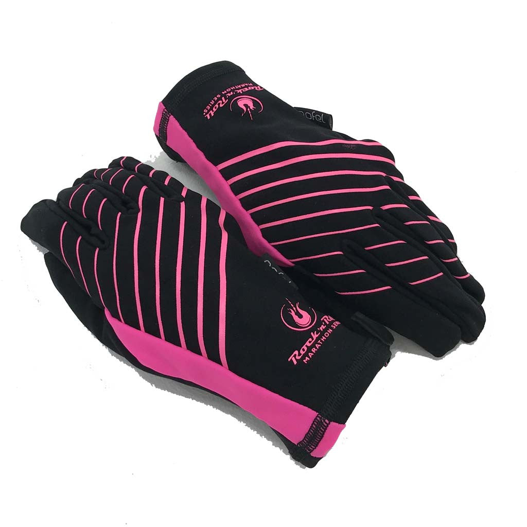Running Thermal Glove Blk/Pink