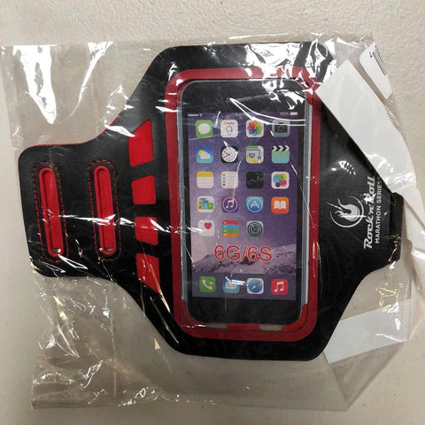 RNR Phone Armband BLK and RED