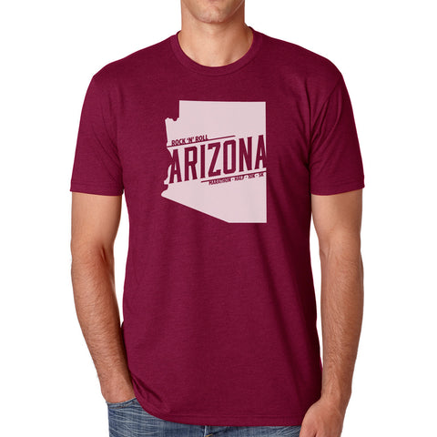 Arizona Neon Guitar Tee